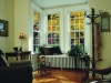 double hung white windows